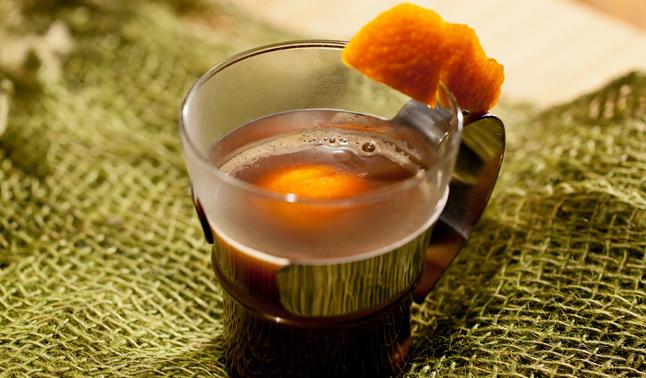 café com laranja