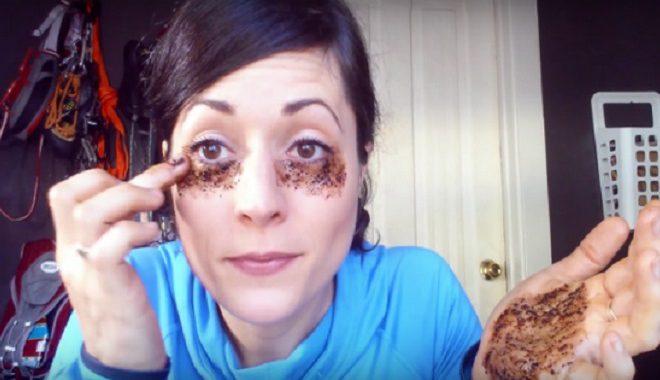 tutorial café para o rosto
