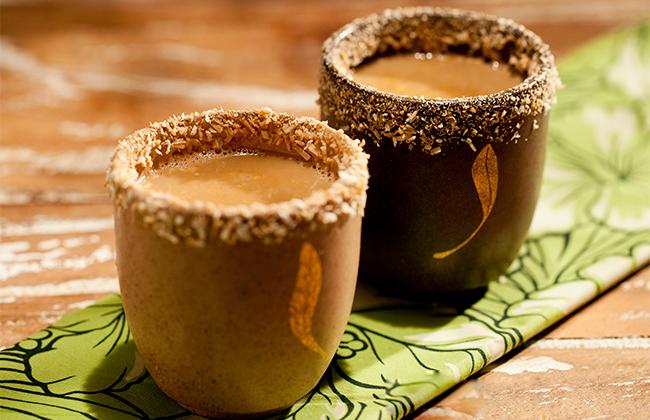 xícaras de café decoradas