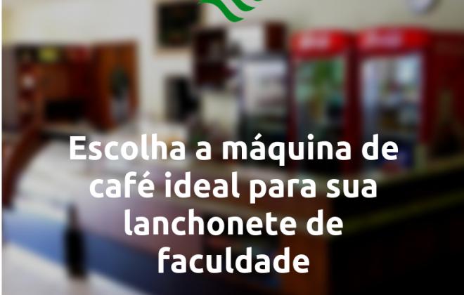 máquina de café ideal para sua lanchonete