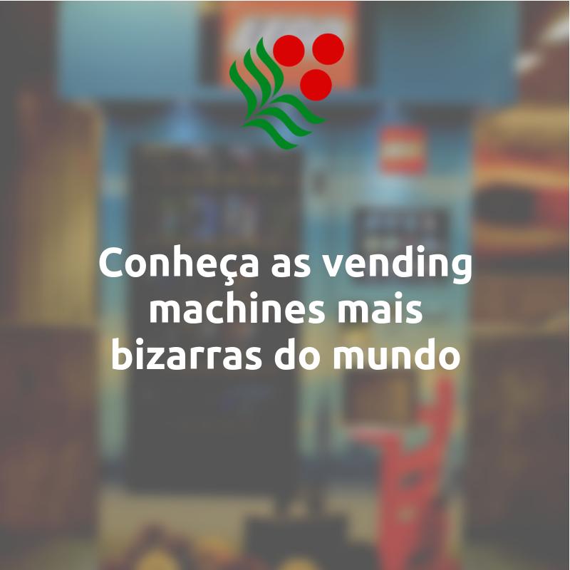 Vending machines bizarras
