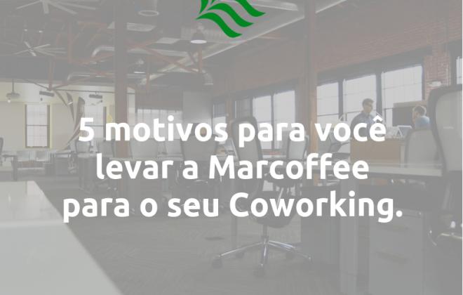 Motivos para máquina de café coworking