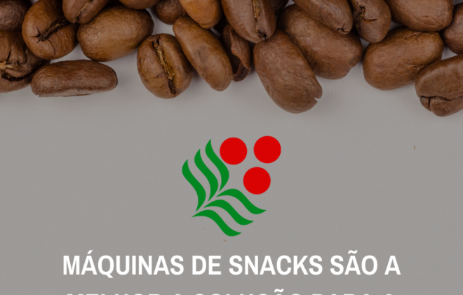 Máquinas de snacks para sua empresa