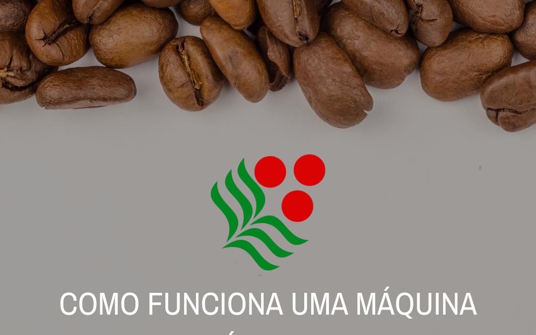 Funcionamento máquina de café marcoffee